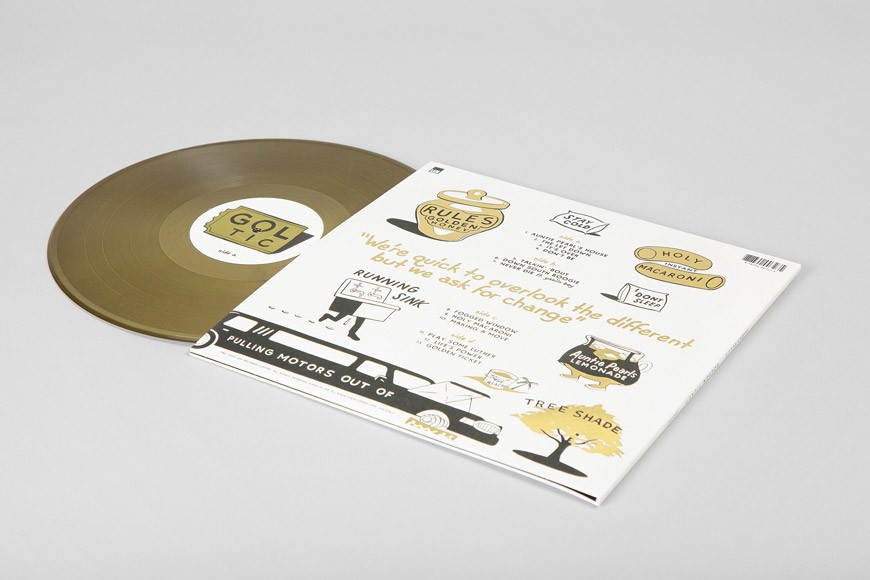 Golden Ticket LP