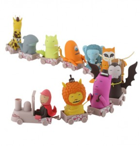 Kid Acne Rolling Stock - Toy train