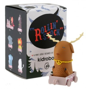 Kid Acne - Rolling Stock Deer toy