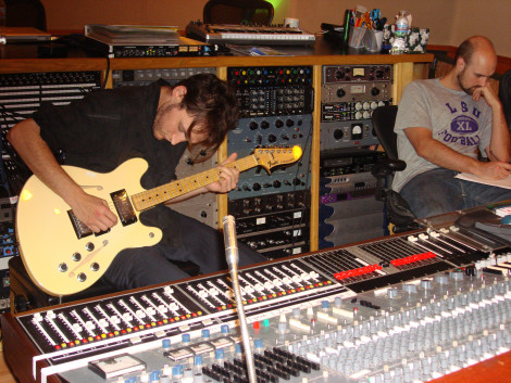 Josh Klinghoffer at Boat Studios